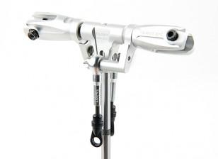 Tarot 450 PRO / PRO V2 DFC Low Profile Rotor Head Assembly - Silver (TL45162-A)