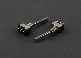 Plat 2-Way Switch (Long) (2 stuks)