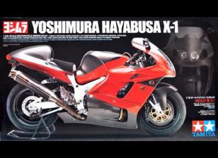 Tamiya 1/12 Schaal Yoshimura Hayabusa X-1 plastic model kit