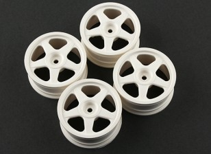 Team Sorex 24mm 5 Spoke Wheel 0mm Offset (4 stuks)