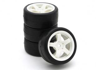 Sweep SWP-MN25 Mini Touring Compleet Tire Set 25deg (4 stuks)