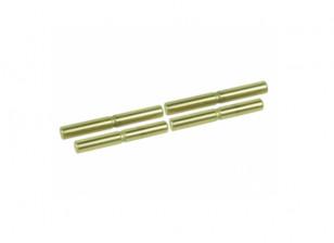 Schorsing Outer Titanium Coated Pin Set - 3Racing SAKURA FF 2014