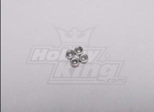 HK-250GT Ball Bearing 4 x 2 x 1,5 mm (4 stuks / set)
