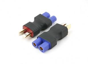 T-Connector EC3 Battery Adapter Plug (2pc) Nieuwe Versie