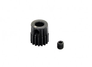 Hobbyking ™ 0.6M gehard staal Helicopter Pinion Gear 5mm Shaft - 16T