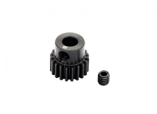 Hobbyking ™ 0.6M gehard staal Helicopter Pinion Gear 5mm Shaft - 20T