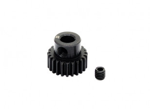 Hobbyking ™ 0.6M gehard staal Helicopter Pinion Gear 5mm Shaft - 23T