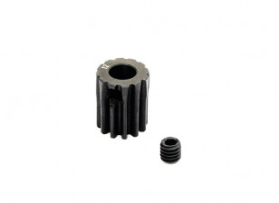 Hobbyking ™ 0,7M gehard staal Helicopter Pinion Gear 5mm Shaft - 12T