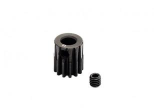 Hobbyking ™ 0,7M gehard staal Helicopter Pinion Gear 5mm Shaft - 13T