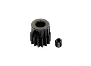 Hobbyking ™ 0,7M gehard staal Helicopter Pinion Gear 5mm Shaft - 14T