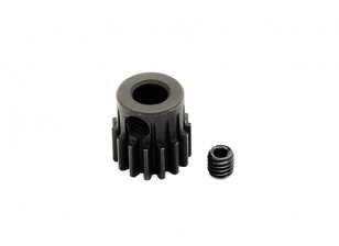 Hobbyking ™ 0,7M gehard staal Helicopter Pinion Gear 5mm Shaft - 15T