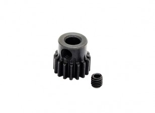 Hobbyking ™ 0,7M gehard staal Helicopter Pinion Gear 5mm Shaft - 16T