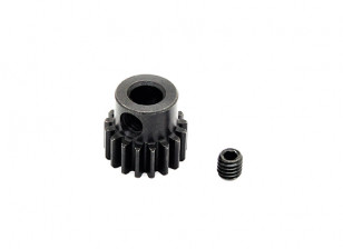 Hobbyking ™ 0,7M gehard staal Helicopter Pinion Gear 5mm Shaft - 17T