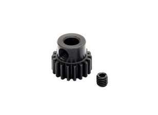Hobbyking ™ 0,7M gehard staal Helicopter Pinion Gear 5mm Shaft - 18T
