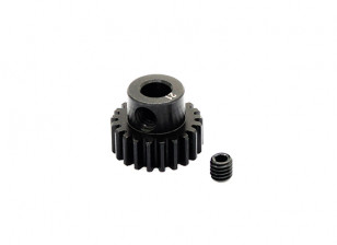 HobbyKing ™ 0,7M gehard staal Helicopter Pinion Gear 5mm Shaft - 21T