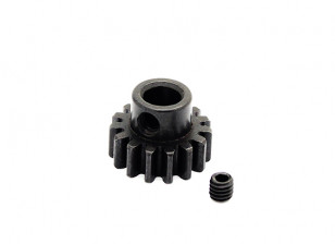 Hobbyking ™ 1.0M gehard staal Helicopter Pinion Gear 6mm Shaft - 15T