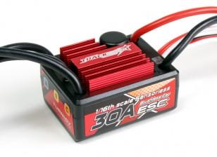 Trackstar 30A 1/16 Scale Sensorloze Brushless ESC