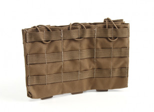 Grey Ghost Gear Triple 5,56 Mag Pouch (Coyote Brown)