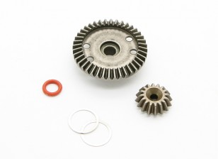 16T / 40T Diff. Gear - BZ-444 Pro 1/10 4WD Racing Buggy