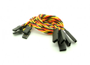 20cm JR 22AWG Twisted Extension Lead M tot en met F 5pcs