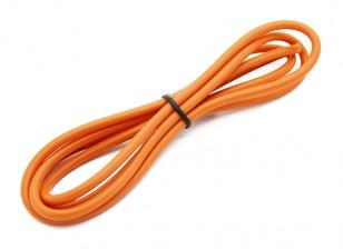 Turnigy Hoge kwaliteit 14AWG Silicone Wire 1m (Orange)