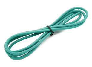 Turnigy Hoge kwaliteit 16AWG Silicone Wire 1m (Groen)
