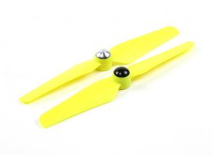 5 x 3.2 Zelf Aanscherping Propeller voor Multi-Rotor CW & CCW rotatie (1 Paar) Geel