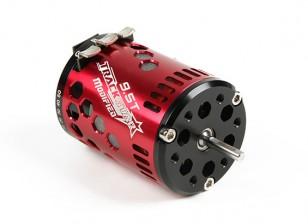 TrackStar 9.5T Sensored borstelloze motor V2 (ROAR goedgekeurd)