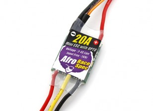 Afro Race Spec Mini 20Amp Opto Multi-Rotor Speed Controller