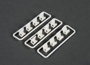 Cable Tie Clip Montage Set (12 stuks)