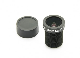 """3.6mm IR / 5MP Board Lens F2.0 1 / 2.5 """"130 °"""