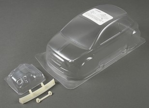 01:10 Fiat 500 Clear Body Shell (voor M chassis)