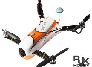 RJX CAOS 330 FPV Racing Drone Combo w / Motor, ESC, Flight Controller, Camera & FPV System (Orange)