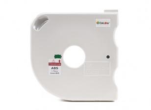 CoLiDo 3D-printer Filament 1.75mm ABS 500g Spool w / Cartridge (Groen)