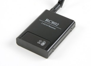 Skyzone RC802 - 2.4Ghz 8-kanaals AV-ontvanger