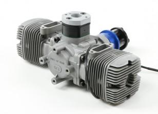 NGH GTT70 70cc Twin cilinder 2 takt Gas Engine