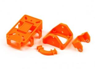 FPV Tilt Mount Parts (set van 4 plastic onderdelen voor DIY) (Orange)
