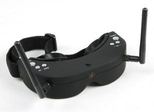 Skyzone FPV Goggles 5.8GHz Div 40CH Raceband RX waaronder H / Tracker (V2)