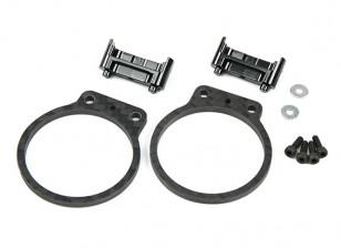 Tarot Motor Protection Set voor TL280 Carbon Fiber (zwart)