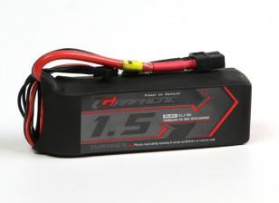 Turnigy Grafeen 1500mAh 4S 45C LiPo Pack w / XT60