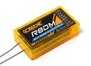 Oranje R8DM 8-kanaals DMSS Receiver