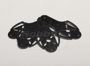 Hobbyking X525 V3 glasvezel Motor Mount (4 stuks / zak)