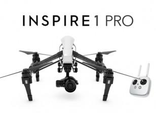 DJI Inspire 1 Pro Edition Quadcopter met 4K-camera en 3-assige Gimbal (RTF)