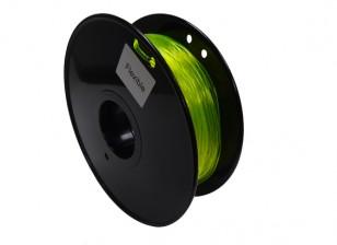 HobbyKing 3D-printer Filament 1.75mm Flexibele 0.8kg Spool (Geel)