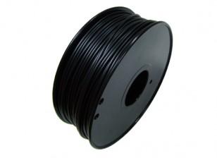 HobbyKing 3D-printer Filament 1.75mm Flexibele 0.8kg Spool (zwart)