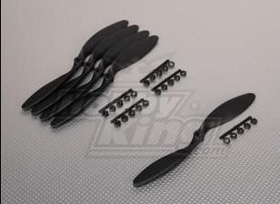 GWS Style Slowfly Propeller 8x6 Black (CCW) (5 stuks)
