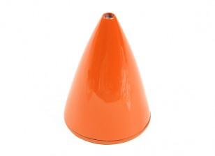 """Carbon Fiber Spinner 2,5 """"High Gloss Orange"""