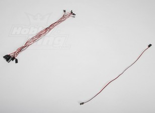 45CM Servo Lead Extention (Futaba) 26AWG (10st / set)