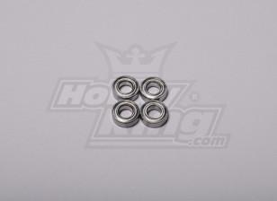 HK-500 GT Ball Bearing 12 x 6 x 4 mm (Lijn deel # H50065)