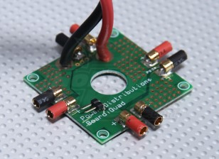 Hobby Koning Quadcopter Power Distribution Board
